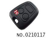 SAIPA car 3 button remote key shell