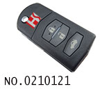 Mazda M6 car 3 button flip remote key