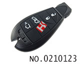 Dodge,Jeep,Chrysler car 4 button smart remote key casing
