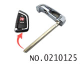 Emergency smart key Blade for New BMW X5 smart card