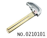 Keyblade for new hyundai verna car smart key