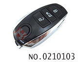New Touareg car 3 button remote chip key(315MHZ)