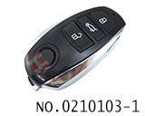 New Touareg car 3 button remote chip key(434MHZ)