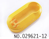 Fiat remote folding colorful key shell(bright yellow)