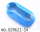 Fiat remote folding colorful key shell(bright blue)