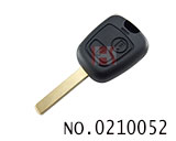 Peugeot 307 car 2 button remote key shell(without logo)