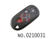 Acura car 2+1 button remote key shell(without logo)