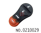 Chrysler car 3+1 button remote button rubber