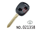 Toyota 2 button remote key casing(south africa type)