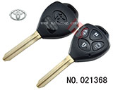 Toyota car 4 button remote key shell