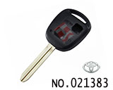 Toyota 2 Button Remote Key Casing (without logo)