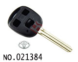 Toyota 3 Button Remote Key Casing (without logo)