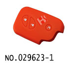Lexus 3-Button Smart Key Silicon Rubber bag(Orange)