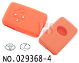 Toyota/Lexus 3-button smart remote control Silicon Rubber bag(orange)