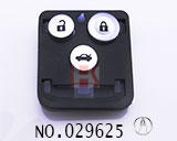 Acura 3-button remote control core shell