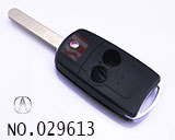 Acura 2 Button Folding Remote Key Shell