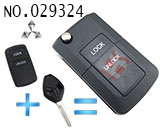 Mitsubishi V73 2 Button Modified Flip Key Shell