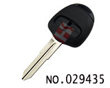 Mitsubishi Outlander 2 button remote key casing(left slot,no logo)
