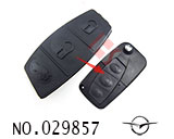Hainan Mazda car 2-3Button Remote Rubber for replacement