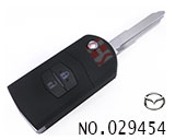 Mazda M3 car 2 button flip remote key