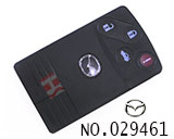 Mazda 4-button smart card casing