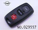 MAZDA 3-button remote key casing (without logo)