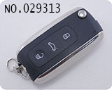 Porsche 3-button flip remote key casing(Bentley style)