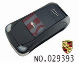 Porsche Cayenne 3-button folding remote key casing