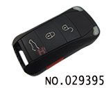 Porsche Cayenne 3+1 button folding remote key casing