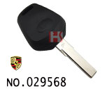 Porsche 911 1-button remote key casing