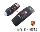 Porsche Cayenne car 3-4Button Remote Rubber for replacement