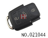 Brand new 3 button remote casing for VW
