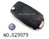 VW Passat B5 car 2+1 button remote key shell(set)