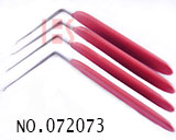 Anti-skid handle L Type unlocking needle(4 pcs)