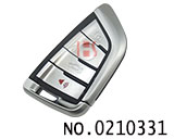 New BMW car knife type 4 button key smart remote control(315MHZ)