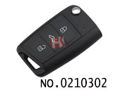 VW Golf 7 generations car folding Remote key shell