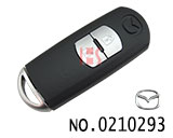 New Mazda CX5, Axela 2 buttons smart remote key shell