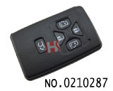 Toyota 5 buttons smart remote key shell