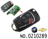 Buick lacrosse,New GL8 5 buttons Modified folding remote key shell