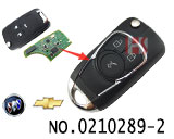 3 buttons modified folding remote key shell for Chevrolet cruze,Aveo car ect.