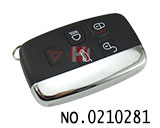 Land Rover Evoque 5 buttons smart remote key(315MHZ)