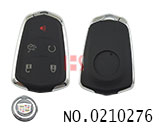 New style Cadillac car 5 buttons smart remote key shell