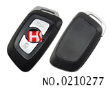 Chunghwa FSV H530 V3 car 3 buttons smart remote key shell