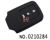 Honda Fit Vezel,New CRV car 3 buttons smart remote silicon rubber