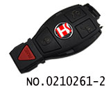 Mercedes-benz original BGA 4 button smart card cover(Upper cover)