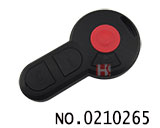 New VW-Volkswagen car 3+1 button remote casing