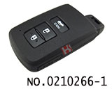 Toyota car 3-button smart key cover