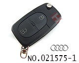Audi car 2 button remote key shell set(small battery)