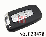 Hyundai IX35 car 3 button remote smart key