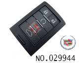Cadillac SLS car 5 button smart remote key shell
